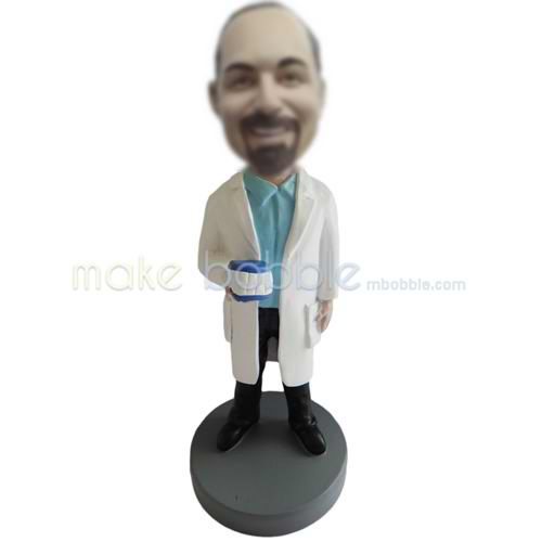 Personalized custom Dentist bobbleheads