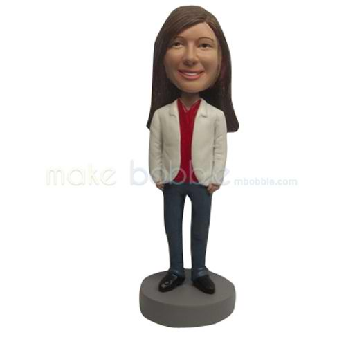 Custom work Kids bobbleheads