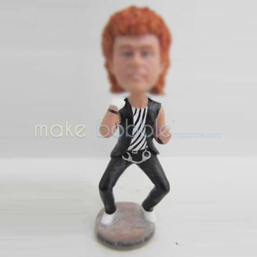 Personalized custom man bobblehead
