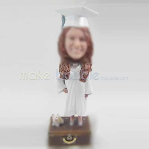 Professional custom Graduation bobble heads