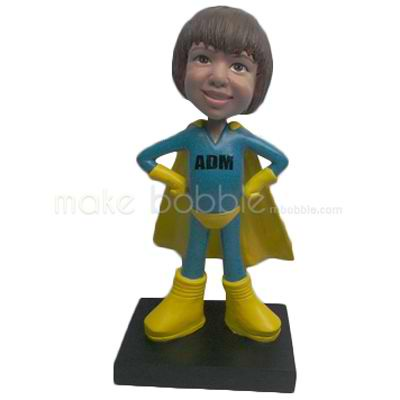 Custom super Kids bobbleheads
