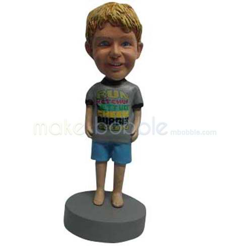 Custom Cute Kids bobbleheads