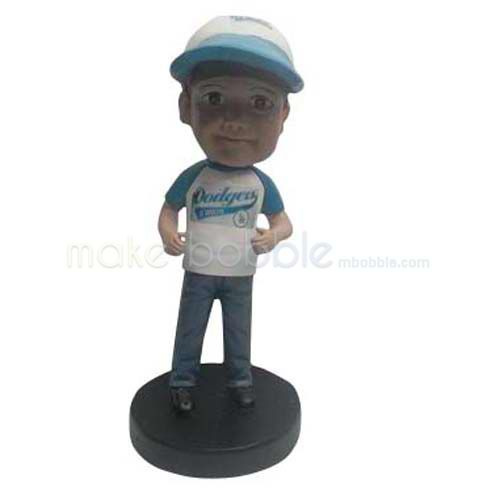 Professional Custom casual Kids bobbleheads bobble heads
