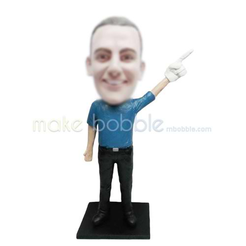 Professional custom funny bobble heads