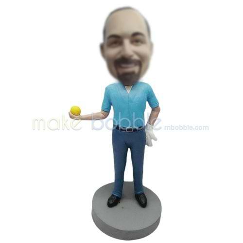 Professional custom black shoes bobbleheads