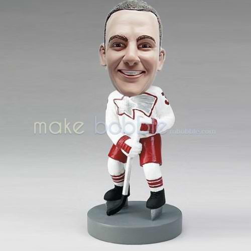 custom ice Hockey bobbleheads