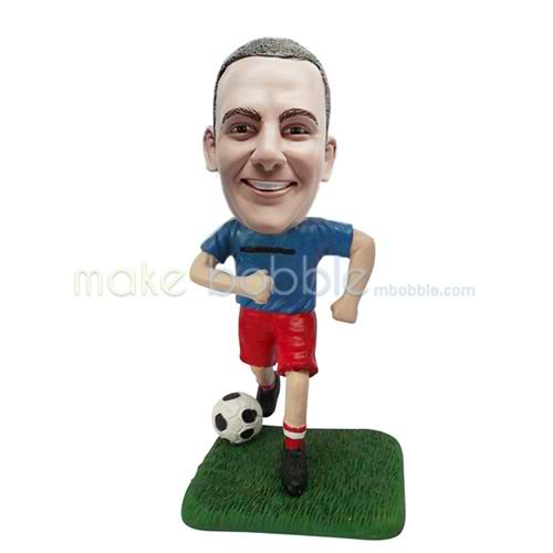 Professional custom football player bobbleheads
