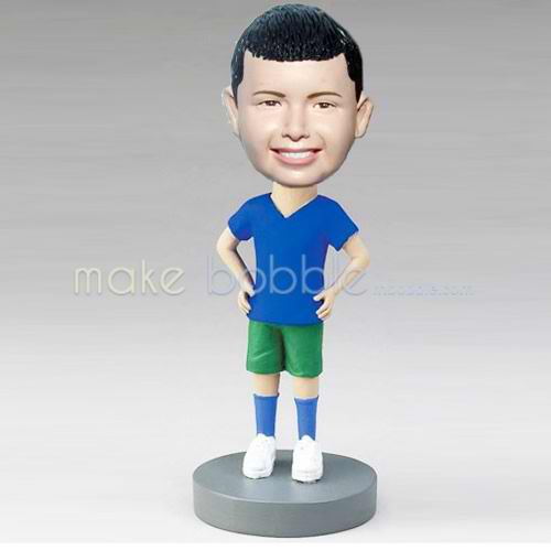 custom sport boy bobbleheads