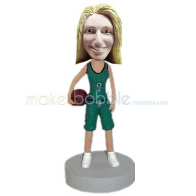 custom basketball player bobblehead