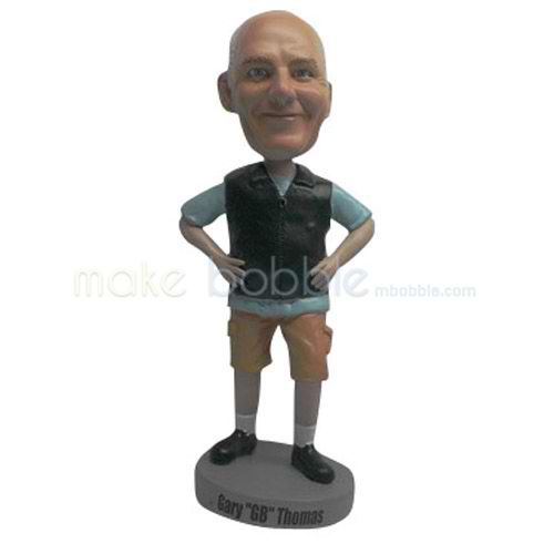Professional custom casual bobblehead