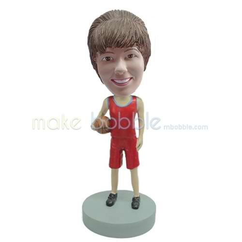 custom basketball player bobblehead doll