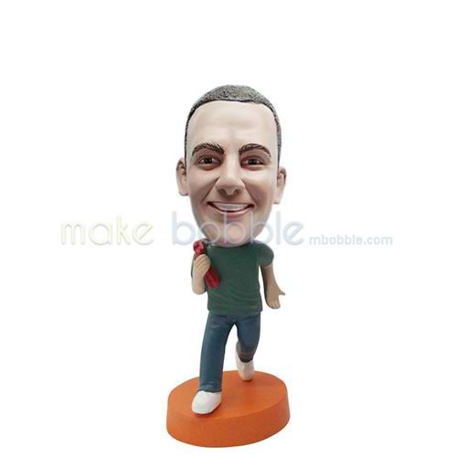Personalized custom funny male bobbleheads