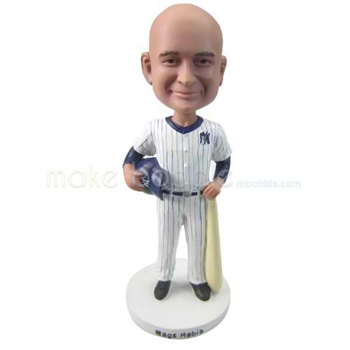 custom new york yankees baseball player bobbleheads