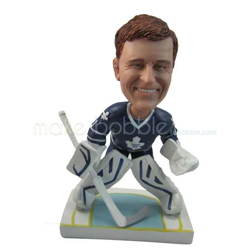 personalized custom ice hockey player bobbleheads