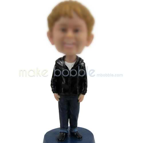 bobbleheads of little boy