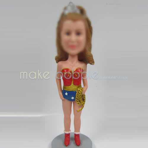 custom American girl bobble heads