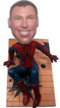 Spiderman Custom Bobble Head Doll