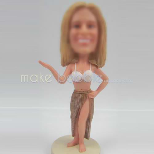 custom swimwear bobble head doll