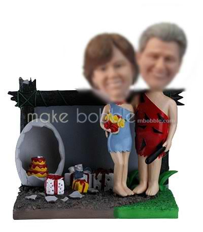 Personalized custom Funny Wedding bobbleheads