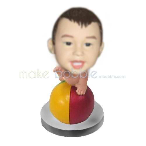 Personalized custom Little Baby bobble heads