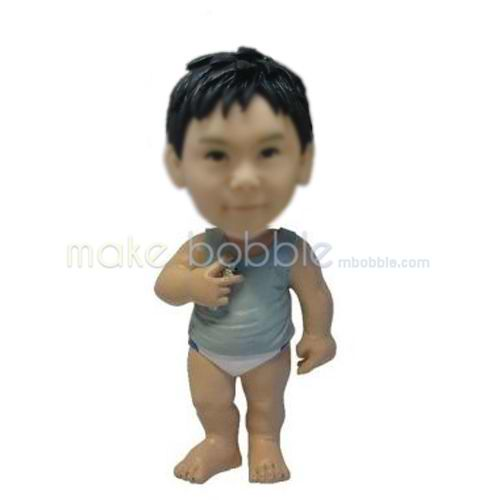 Custom bobblehead dolls of Little Baby