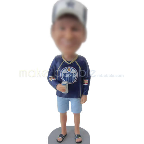personalized comfortable Male bobblehead
