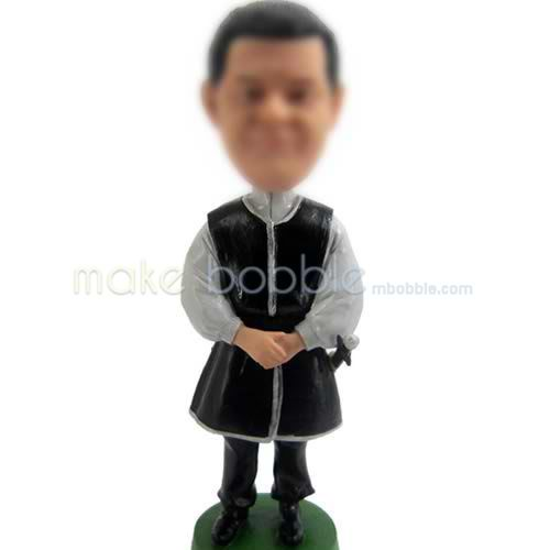 personalized bobbleheads casual men