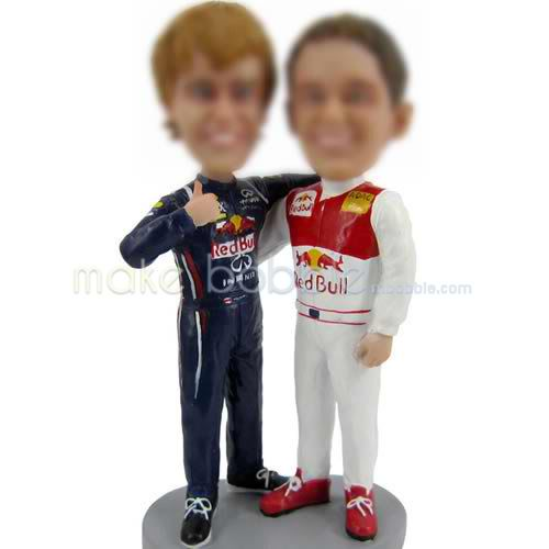 Custom bobbleheads of sports man