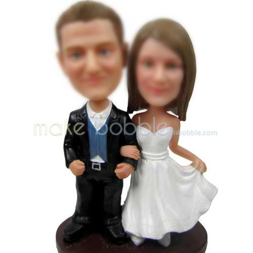 professional Custom Wedding bobbleheads