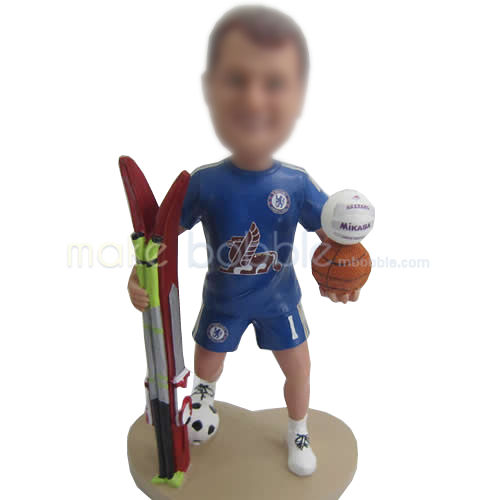 professional sports bobble head doll