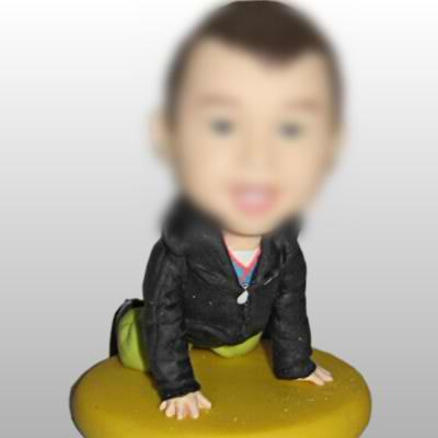 The little boy bobblehead