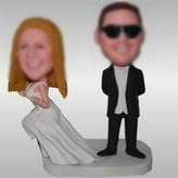 Funny Custom  Couple Bobbleheads