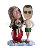 Personalized custom funny lover bobbleheads