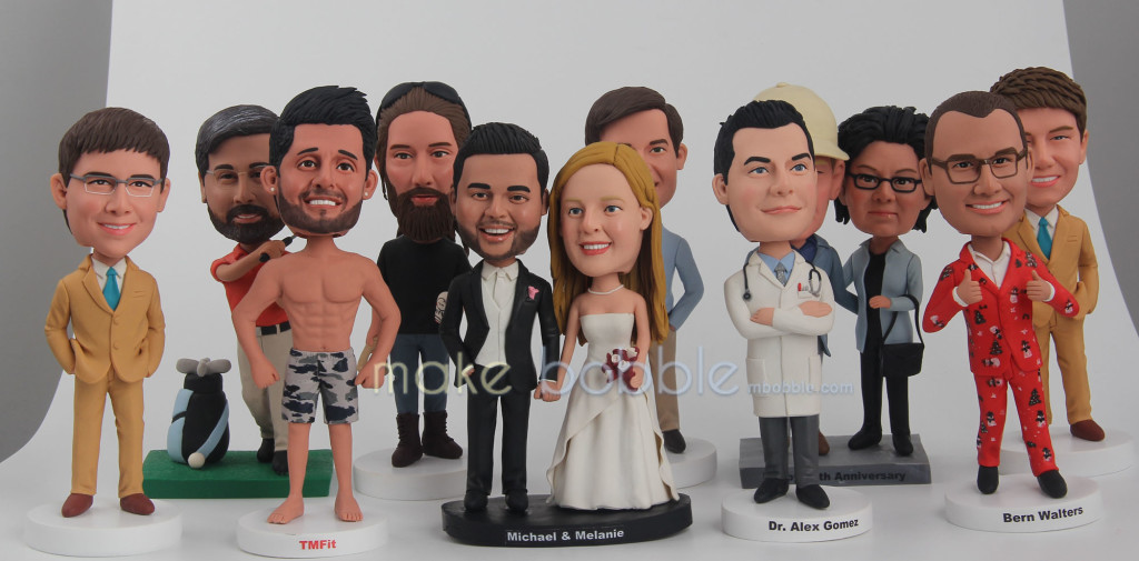Bobbleheads come out with the modified forms in different stages