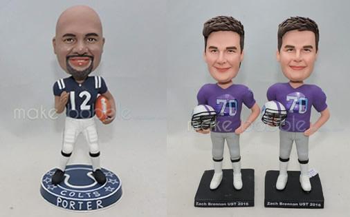 Opting for Custom bobbleheads for football team online