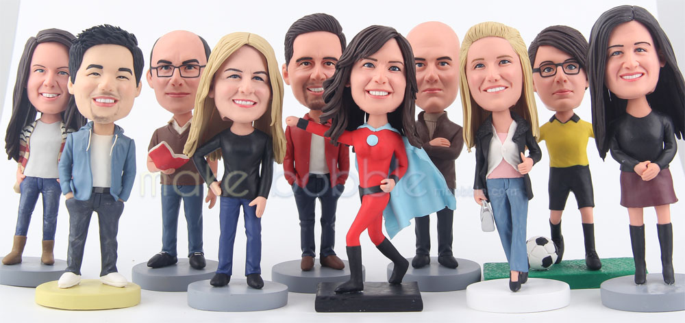 Bobbleheads- the unique birthday gifts for her