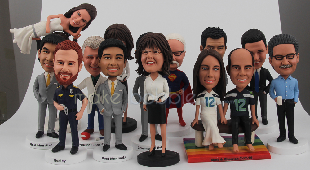 Custom Bobbleheads - A Special Gift Idea for Showing Gratitude