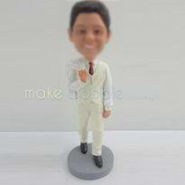 Turn your groomsmen into bobbleheads with these 5 Best Man & Ushers Bobbleheads