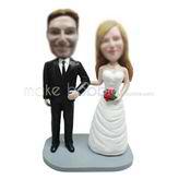 Personalized wedding bobblehead dolls