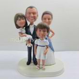 Personalized custom family bobble heads