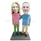 Custom couple bobblehead doll