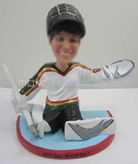 Personalized custom Ice Hockey bobbleheads
