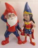 Personalized custom Cartoon couple bobbleheads