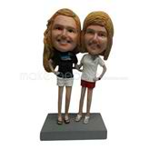 Custom best friends bobble heads