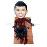 Custom Spiderman bobble heads