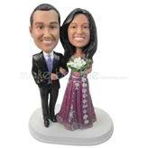 Anniversary souvenir wedding bobbleheads
