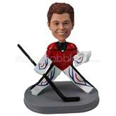 Custom ice hockey player bobble head dolls