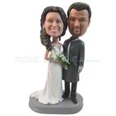 Personalized  special bobbleheads - wedding cake topers