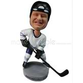 Custom  chubby ice hockey player bobblehead dolls