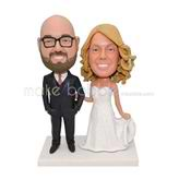 Personalized significative wedding bobblehead